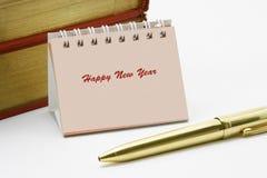 Mini calendario de escritorio Fotos de archivo libres de regalías