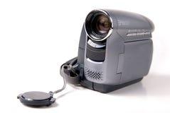 Mini caméra vidéo tenue dans la main de DV Image libre de droits