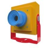 Mini camera with mount Royalty Free Stock Photos