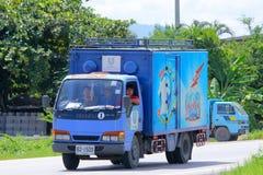 Mini caminhão do recipiente da empresa comercial tailandesa de Uniliver Fotos de Stock Royalty Free