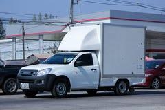 Mini caminhão refrigerado do recipiente Fotografia de Stock