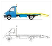 mini camion Image libre de droits