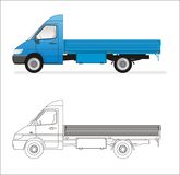 mini camion Photographie stock libre de droits