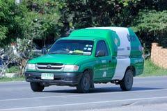 Mini camion della società di Unipest Fotografia Stock