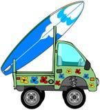 Mini camion della spuma Fotografie Stock Libere da Diritti