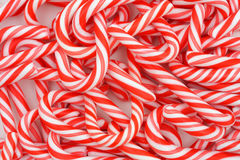 Mini Candy Canes Royalty Free Stock Photography