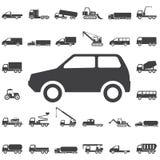 Mini Car Icon Photographie stock