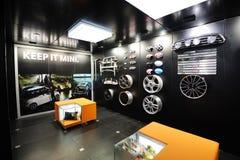 Mini car parts pavilion Royalty Free Stock Photo