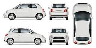 Mini car vector illustration. Stock Photos