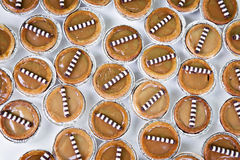 Mini caramel tarts Royalty Free Stock Photos