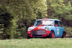 Mini carro de competência Imagem de Stock Royalty Free