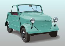 Mini-carro do vetor Imagem de Stock Royalty Free