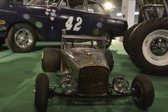 Mini carro velho do temporizador Imagens de Stock
