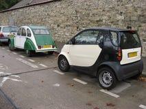 Mini Cars Paris Stock Image