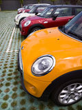 Mini cars for sale Stock Photography