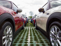 Mini cars for sale Royalty Free Stock Photo