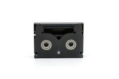 Mini casetes de DV aislados en blanco Foto de archivo