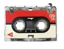 Mini cassette audio para el fax/el tipo registrador Imagenes de archivo