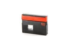 Mini cassette de DV Foto de archivo libre de regalías
