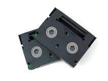 Mini cassettes de DV Imagenes de archivo