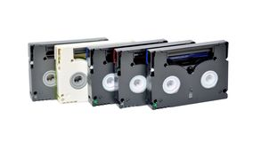Mini cassettes de DV Foto de archivo libre de regalías