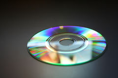 Mini CD isolado Fotos de Stock Royalty Free