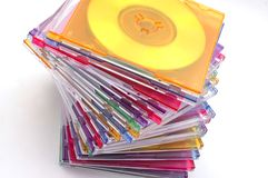 Mini-CDs Stock Image