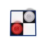 Mini checkers Stock Photo