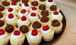Mini Cheesecakes Stock Image