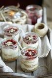 Mini Cheesecakes Photographie stock