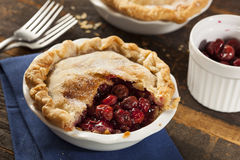 Mini Cherry Pie Dessert Royalty Free Stock Image