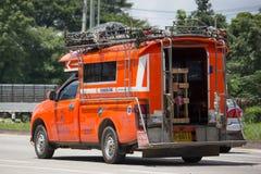 Mini chiangmai alaranjado do táxi do caminhão Imagem de Stock