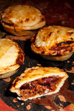 Mini chilli beef pies Stock Photos