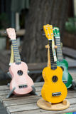 Mini chitarra Fotografie Stock Libere da Diritti