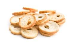 Mini chlebów układy scaleni Zdjęcia Royalty Free