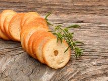 Mini chlebów układy scaleni Obraz Stock