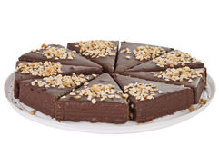 Mini chocolate cake Royalty Free Stock Photos