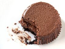 Mini Chocolate Cheesecake Stock Photos