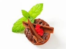 Mini chocolate dessert cake Stock Photos