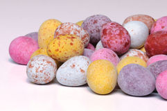 Mini Chocolate easter eggs Royalty Free Stock Image