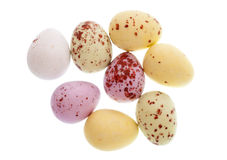 Mini chocolate easter eggs Stock Photography