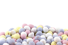 Mini Chocolate Eggs Royalty Free Stock Photography