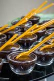 Mini chocolate fudge Royalty Free Stock Photo
