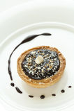 Mini Chocolate Tart Royalty Free Stock Photos
