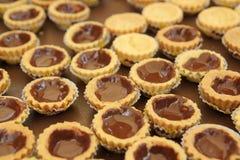 Mini Chocolate Tart image stock