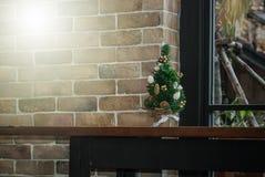 Mini Christmas-boom Royalty-vrije Stock Afbeeldingen