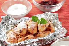 Mini Christmas stollen Royalty Free Stock Image