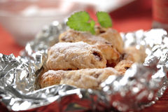 Mini Christmas stollen Royalty Free Stock Photos