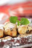 Mini Christmas stollen Royalty Free Stock Photo