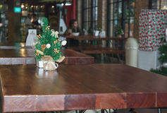 Mini Christmas träd Royaltyfri Fotografi